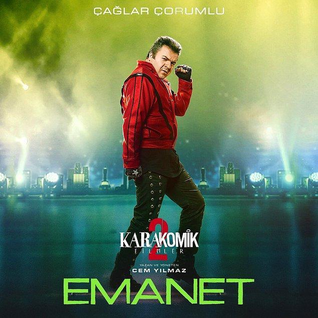 Ancak biz kendisini en son 'Karakomik Filmler 2; Emanet'de, 'Babam Çok Değişti'de Mehmet Ali karakteriyle ve bu yıl da 'Ayak İşleri'nde Vedat olarak gördük.