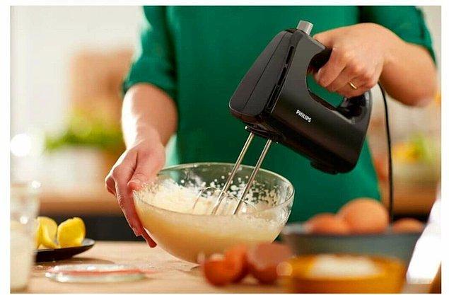2. Philips mikser yemek yaparken işlerinizi çok kolaylaştıracak.