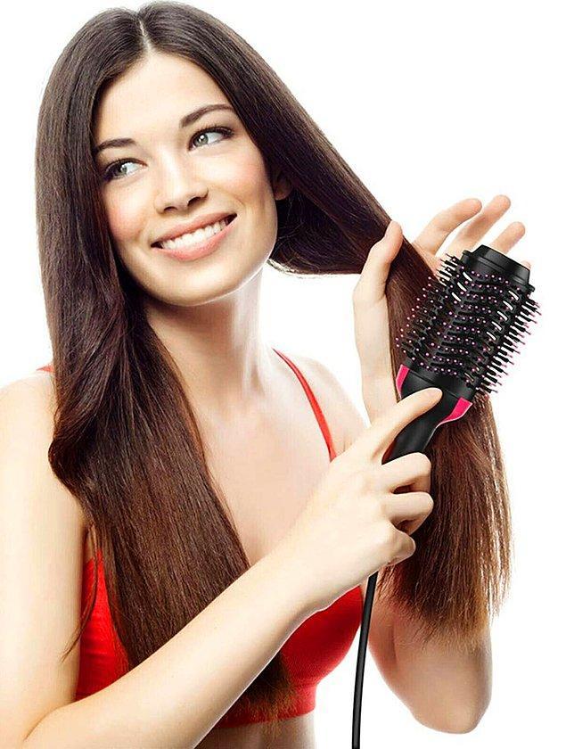 4. Saçlarınızı şekillendirmeden dışarı çıkamıyorsanız size pratik bir ürün önerebiliriz.