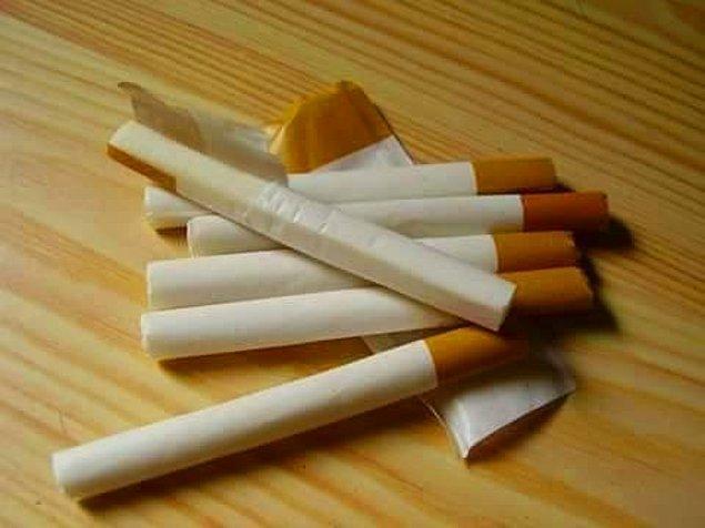 11. Sigara şeklinde sakızlar vardı pakette satılan. Şu an düşününce aslında ne kadar da yanlış geliyor ama nostaljik diye koyalım buraya bakalım.