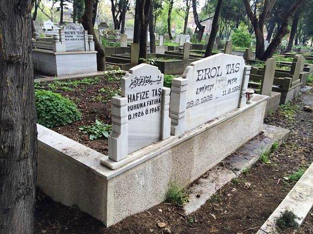 Kangren sonucu ayağı kesilen Erol Taş'ın kesilen ayağı mezara gömülmüş ama hırsızlar tarafından mezar kazılmış ve çalınmış.