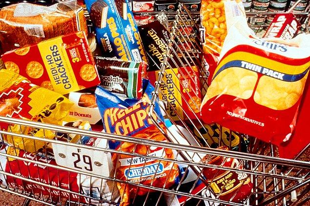 7. Paketli gıdalardan uzak durun.