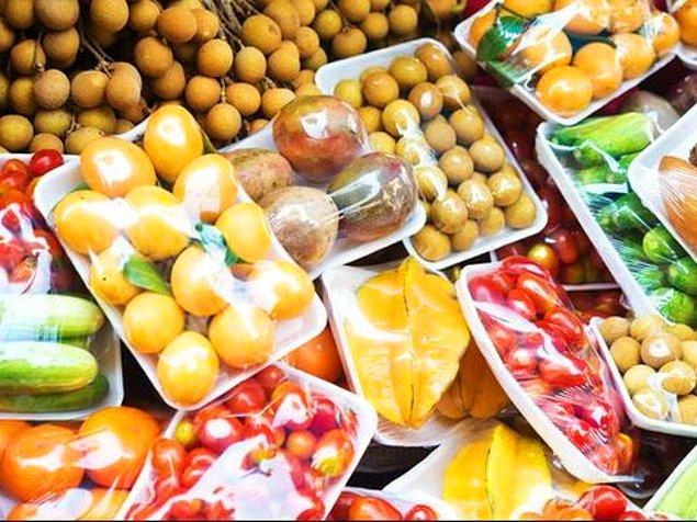 6. Meyve ve sebzeleri mevsiminde tüketin.