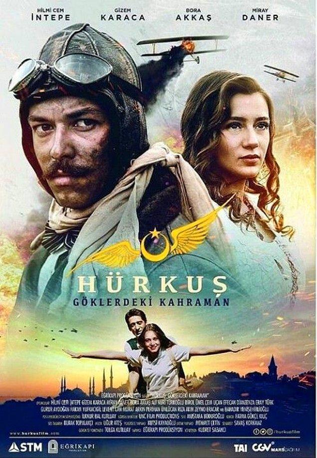 15. Hürkuş: Göklerdeki Kahraman (2018) - IMDb: 5.6