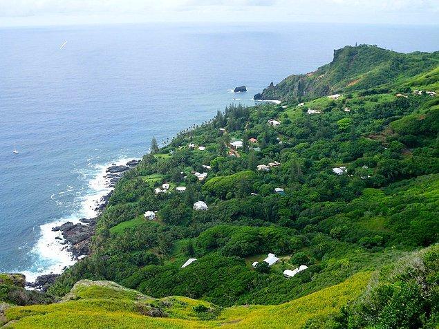 6. Pitcairn Adaları