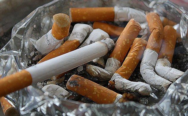 1. Sigara tüketimi