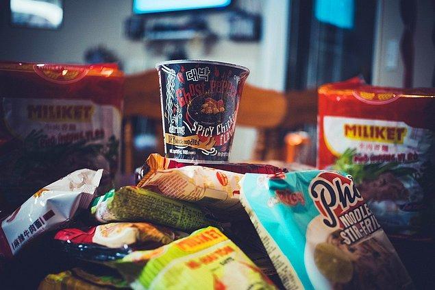 8. Hazır gıda tüketimi