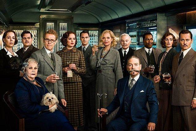 17. Murder on the Orient Express (Doğu Ekspresinde Cinayet)
