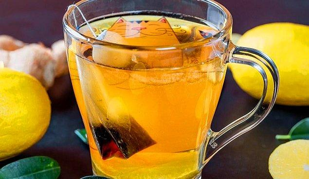 6. Sodalı yeşil çay