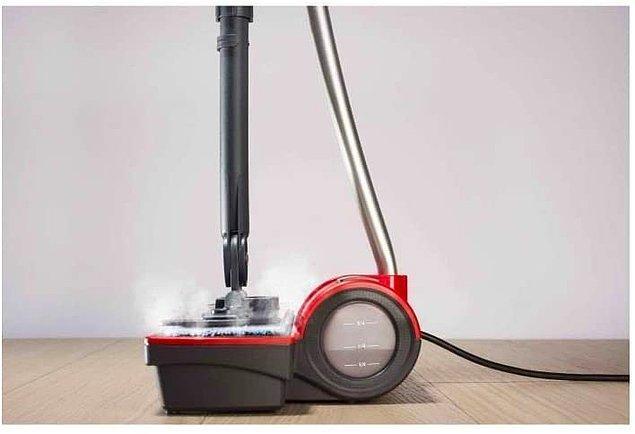 14. Polti Moppy ekstra toz kavrayan kablosuz buharlı temizleyici paspas!