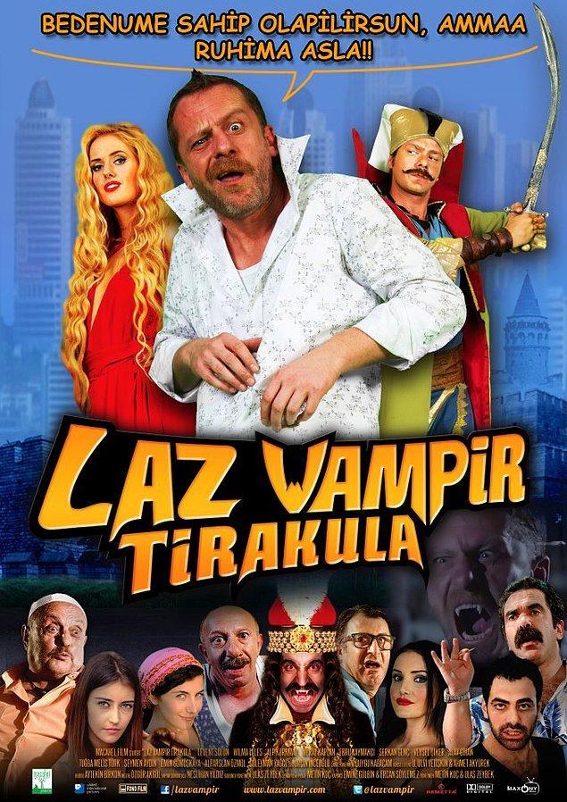 """11. Dracula ile ilgili belki yüzlerce film vardır ancak """"Laz Vampir Tirakula"""" kuşkusuz aralarından en fantastik olanı."""