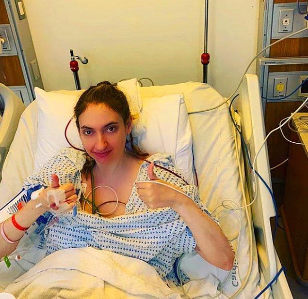 """11. """"Çok korktuğum beyin ameliyatını sonunda oldum ve bitti!"""""""