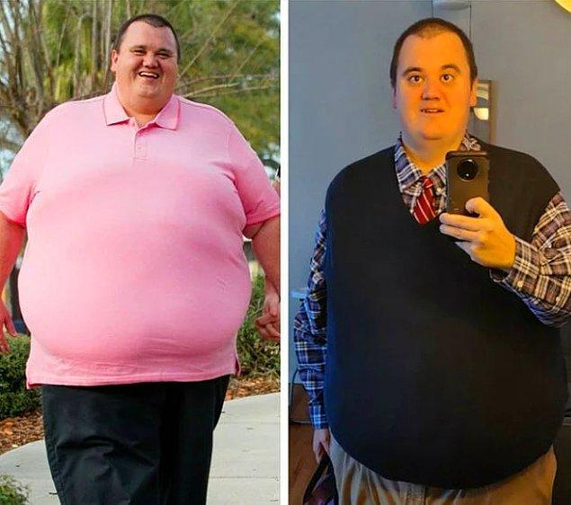 """10. """"2020'nin Ağustos ayında 240 kiloydum, bu senenin Haziran ayı itibariyle 148 kiloya düştüm!"""""""