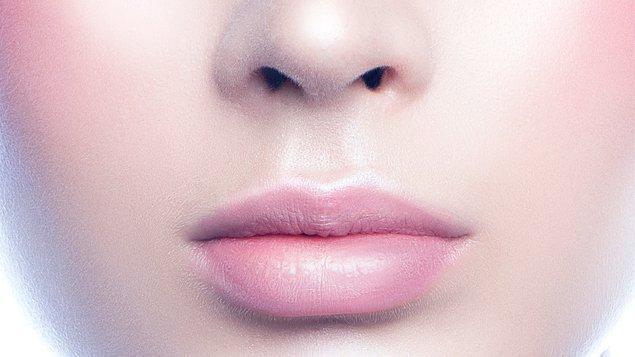 7. Görünmez dudaklar