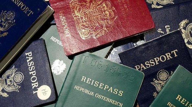 En güçlü pasaporta sahip ilk üç ülke Asya'dan
