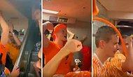 Hollandalı Taraftarlar, 6-1'lik Skor Sonrası 'Şenol İstifa' Diye Slogan Attılar