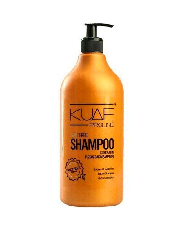 3. Keratin destekli Kuaf tuzsuz şampuanın saçlarında yarattığı hızlı değişime inanamayacaksın.