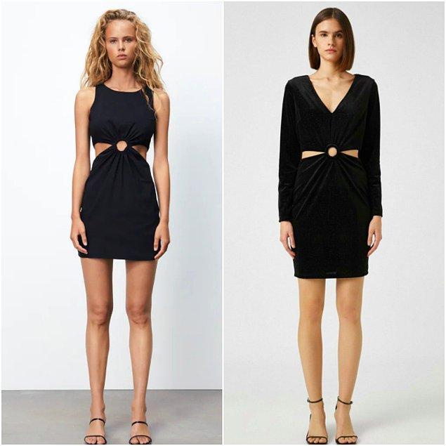 11. Zara'da 260 TL olan elbisenin benzer modeli Koton'da sadece 126 TL!