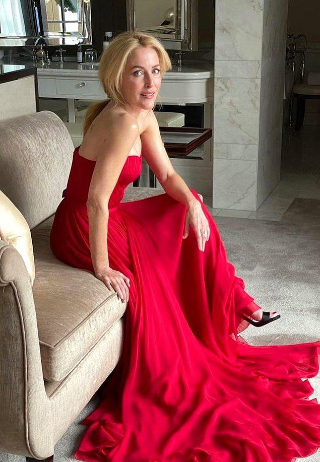 16. Gillian Anderson: