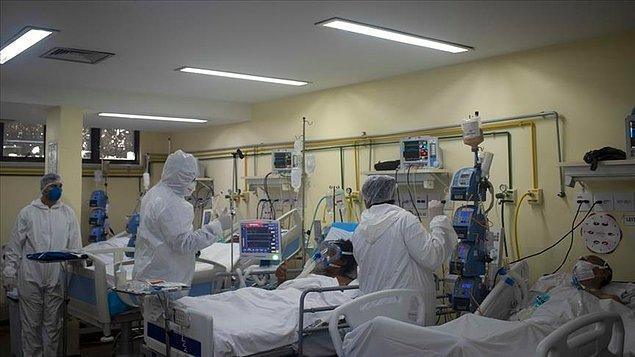 """""""Hastanelerdeki vakaların yüzde 90'ı aşı olmamış veya aşısı tamamlanmamış kişiler"""""""