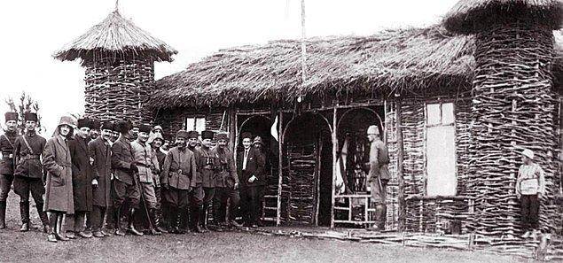 Başarılarının üzerine 1. Dünya Savaşı sırasında Kafkasya Cephesi'nde Dersim'de görev almış.