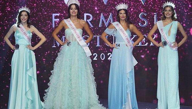 Dün akşam bildiğiniz üzere Türkiye'nin en güzel kadını seçildi ve aynı zamanda Faruk Sabancı'nın da 'baldızı' olan Dilara Korkmaz birinci oldu.
