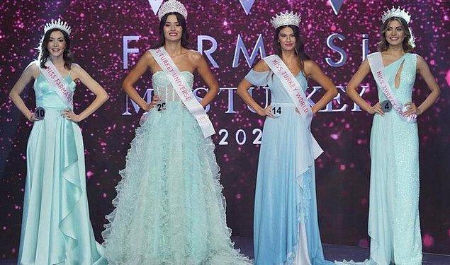 Ancak en nihayetinde finalde Dilara Korkmaz birinci, Cemrenaz Turhan ikinci, Şira Sahilli üçüncü, Su Bige Korucu ise 4. güzel seçildi.