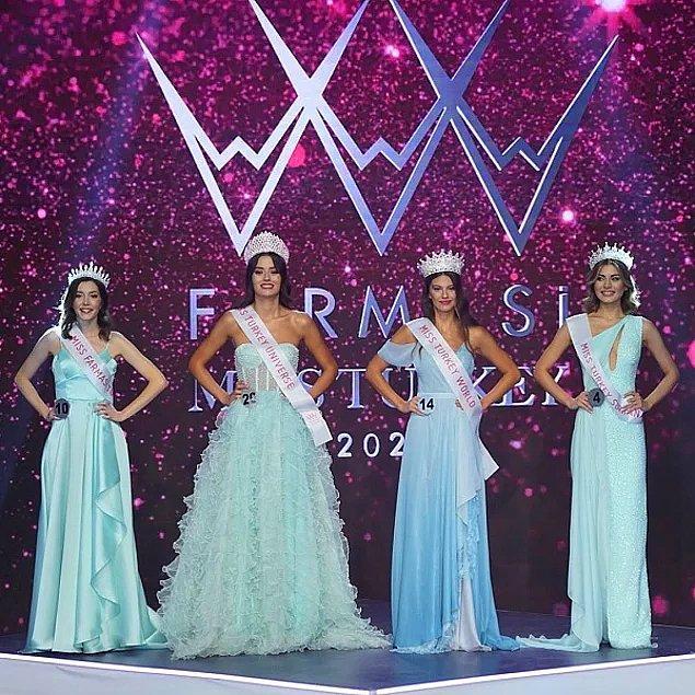 Bildiğiniz üzere geçtiğimiz akşam Türkiye'nin en güzel kadınlarının seçildiği Miss Turkey 2021 yarışmasının finali vardı.