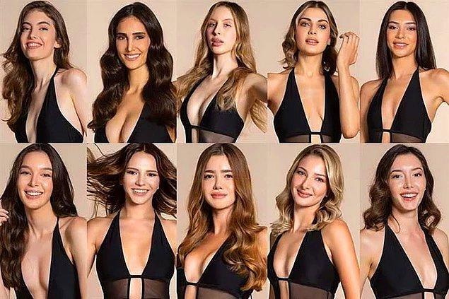 Her yıl olduğu gibi bu yılda Miss Turkey 2021'in kızları tartışma yarattı.