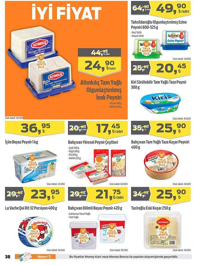 22. Süt ve süt ürünleri;