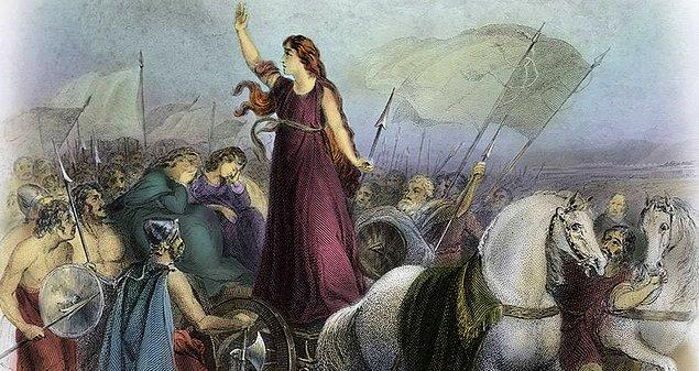 1. Kraliçe Boudica