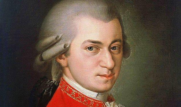 10. Wolfgang Amadeus Mozart