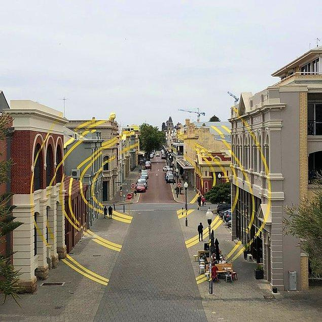 8. Optik yansımalı sokak sizlerde de hayranlık uyandırmadı mı?