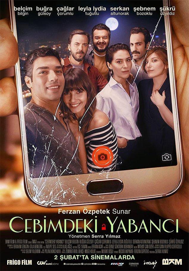 3. Cebimdeki Yabancı (2017) - IMDb: 6.9