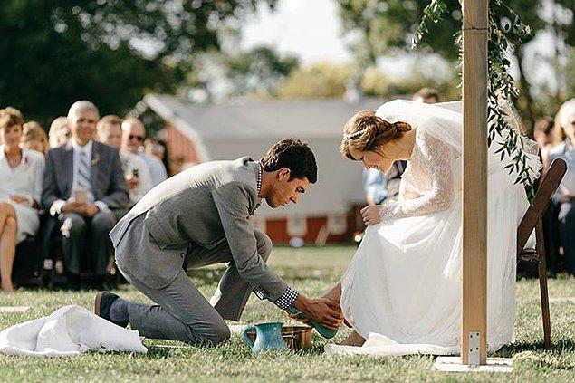 Bu düğün geleneğini duyunca eminiz ki hayretler içinde kalacaksınız