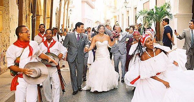 Kolombiya'da olaylar düğün sonrası çok ilginç bir hal alıyor...
