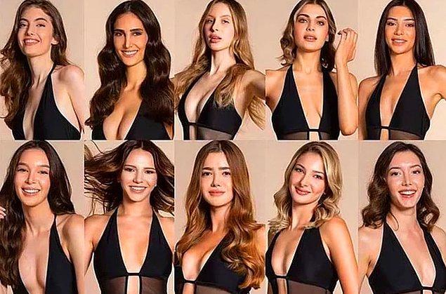 2. Miss Turkey 2021 sonuçlarıyla birlikte Türkiye'nin en güzel kadınları seçildi!