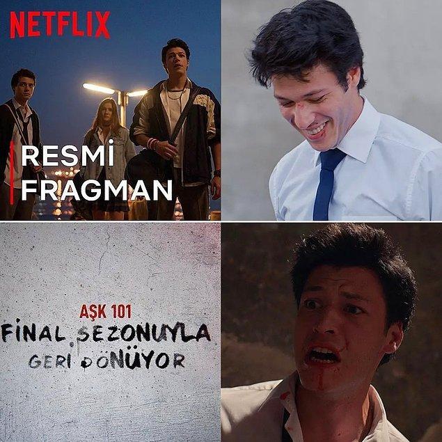 8. Sevilen Netflix dizisi 'Aşk101'in final sezonu fragmanı yayınlandı!