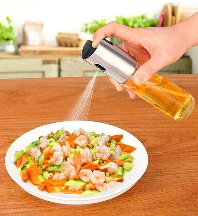 8. Aşçı mutfaklarında görebileceğiniz bir ürün.