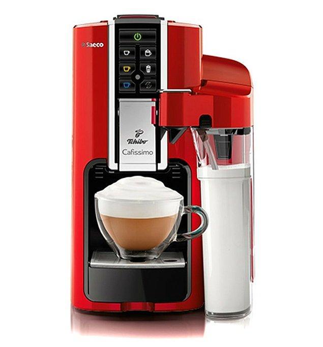 10. Evi süpürdüğümüze göre, kahve keyfi yapabiliriz. Tchibo Cafissimo ile keyfinize keyif katın!😍