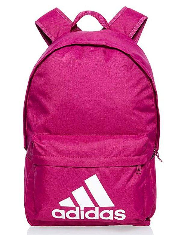 17. Adidas sırt çantası arıyorsanız en tatlı rengini bulduk! 😉