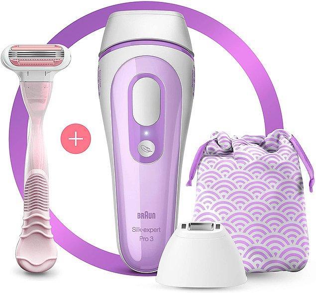 18. Kızlar harika bir Braun lazer epilasyon set bulduk, her eve lazım!😍
