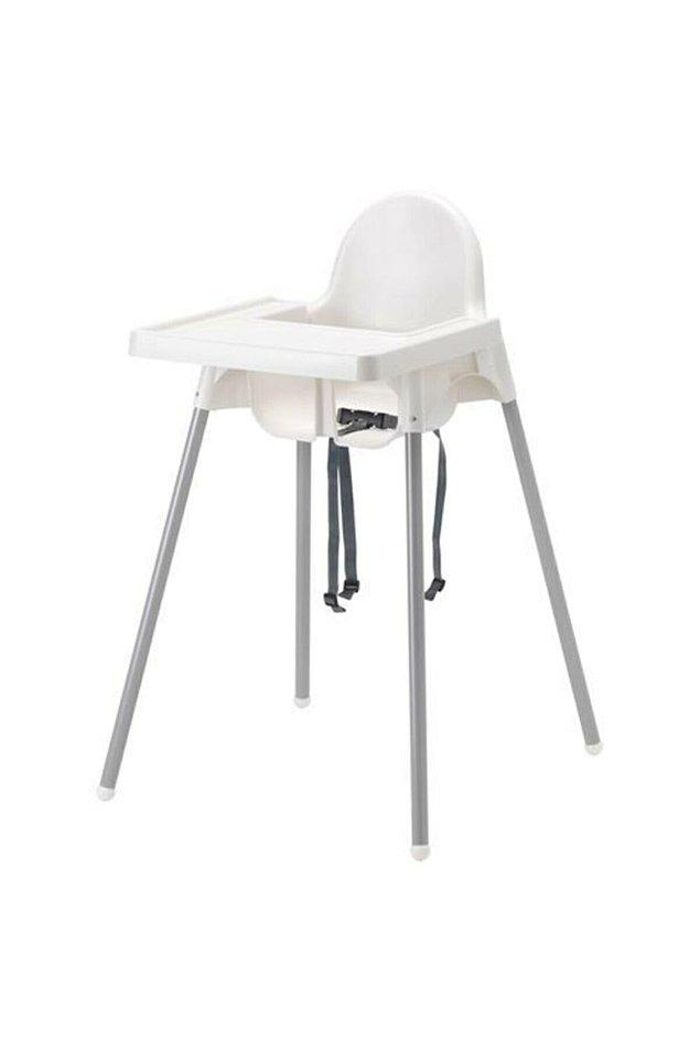 3. Ikea mama sandalyesi hem pratik ve sağlam hem de uygun fiyatlı seçeneklerden biriydi.