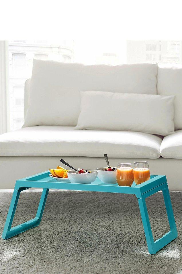 15. Ikea yatak tepsisi ile sabah kahvaltıları bir başka güzel...