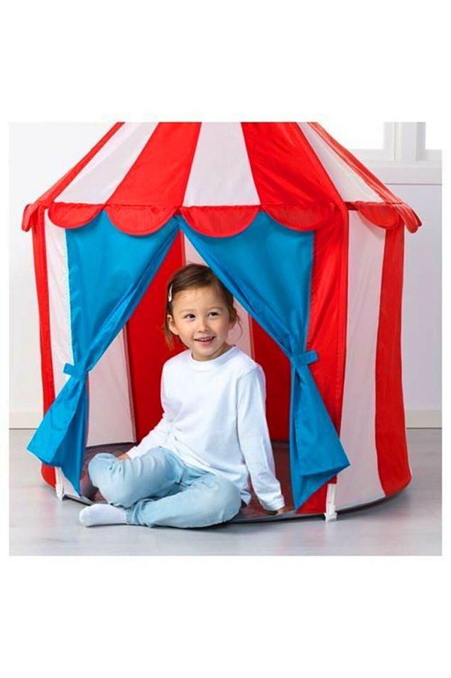 16. Erken çocukluk döneminde her çocuğun en sevdiği şeylerden biridir çadır.