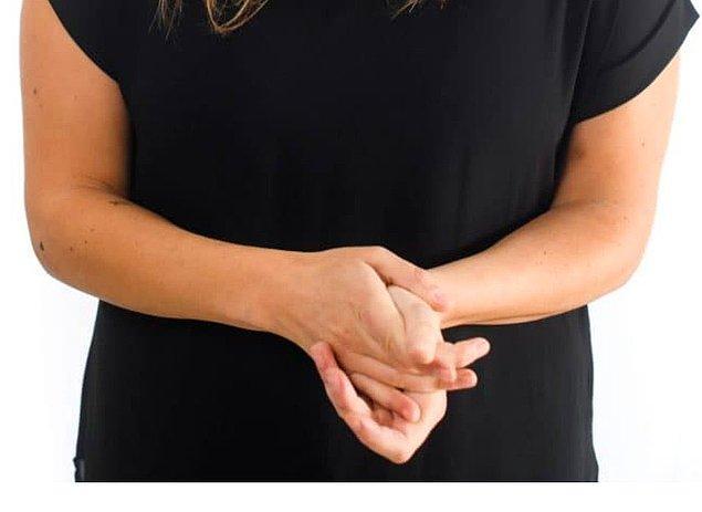 7. Kendi ellerimizi tutmak