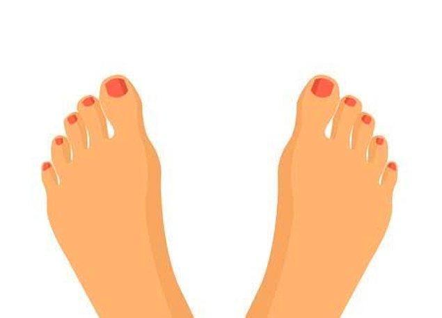 10. Ayak uçlarının yönü