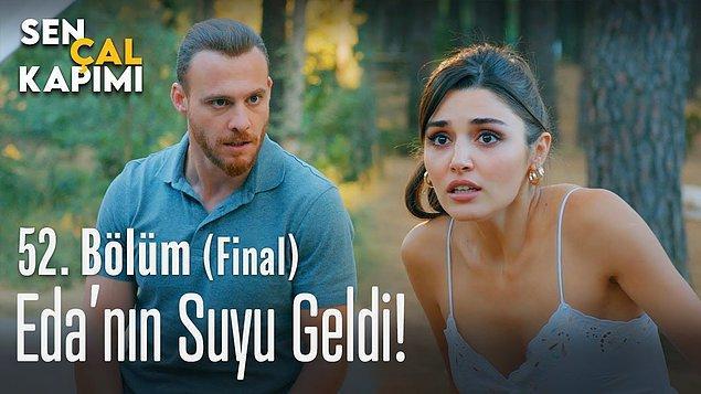 Set arkadaşlığını aşka dönüştüren Hande Erçel ile Kerem Bürsin'in başrollerinde olduğu Sen Çal Kapımı dizisinin final bölümündeki 'doğum' sahnesi de çok konuşuldu.