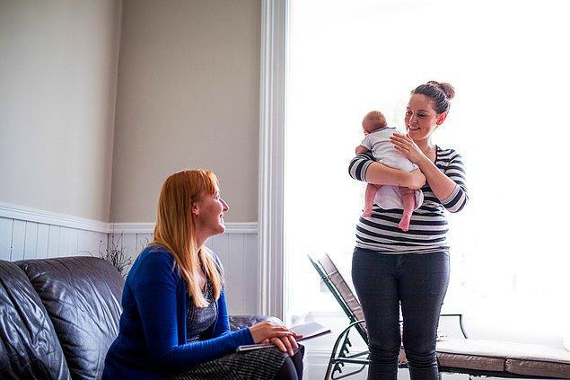 9. Doğumdan sonra 14 hafta boyunca annelere asgari ücret sağlanır.