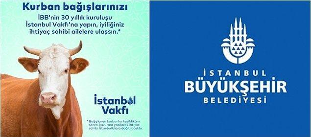2. İstanbul Vakfı'nın Kurban Bayramı'nda ihtiyaç sahibi ailelere kurban eti ulaştırmak üzere düzenlediği bağış kampanyasına izin verilmedi.